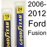 Ford Fusion (2006-2012) Wiper Blade Kit - Set Includes 24