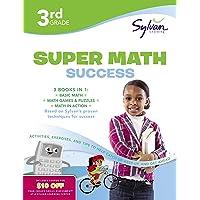 3rd Grade Jumbo Math Success Workbook: 3 Books in 1--Basic Math, Math Games and...