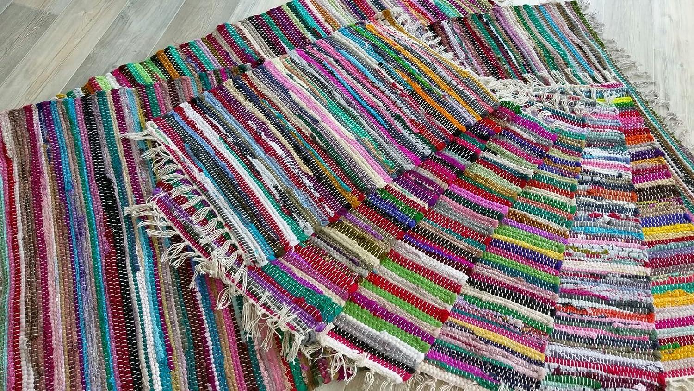 Fleckerlteppich  Fleckerlteppich Kelim Handgewebt 250 x 090 cm Kelim Beidseitig ...