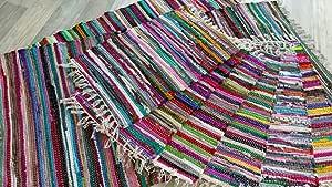 Flecos Kufstein Multicolor Muchos Tamaños Elegibles a Mano Remiendos Alfombra