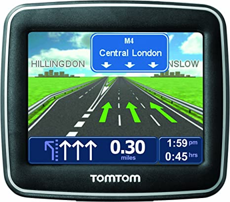 TomTom One Classic 3.5 Sat Nav with UK and Ireland Maps