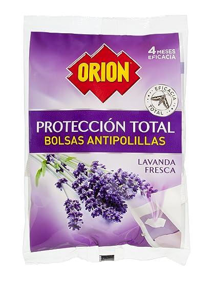 Orion Protección total - Bolsas antipolilla, lavanda, 20 unidades - Pack de 2 x 20 Unidades