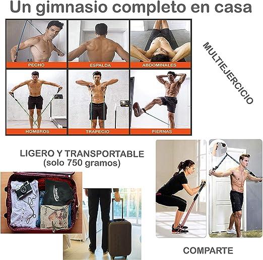 InnoTi Bandas Elásticas de Musculación y Fitness - Gomas Elásticas ...