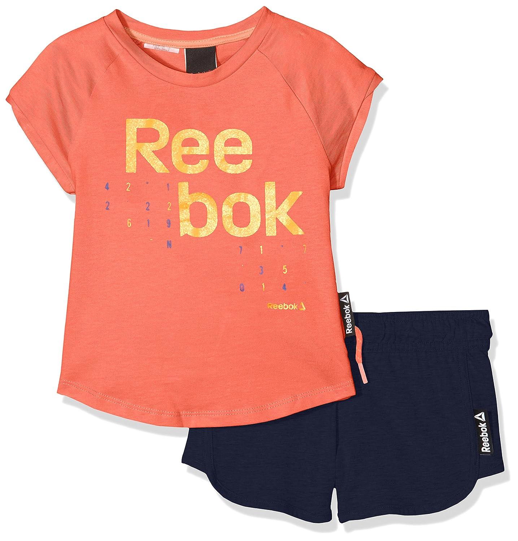T-Shirt /à Manches Courtes Fille Reebok Mli05 T