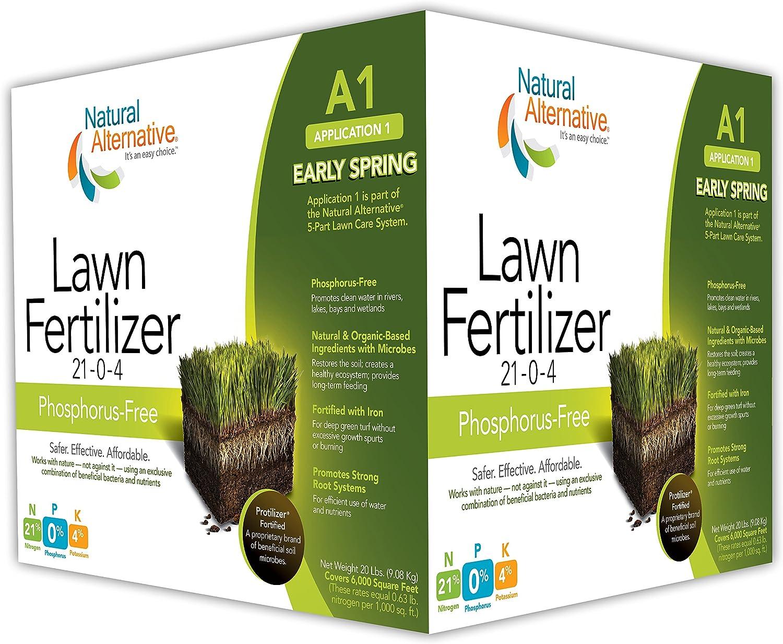 Natural Alternative Early Spring Fertilizer