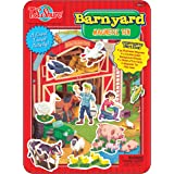 T.S. Shure Barnyard Friends Magnetic Tin Playset