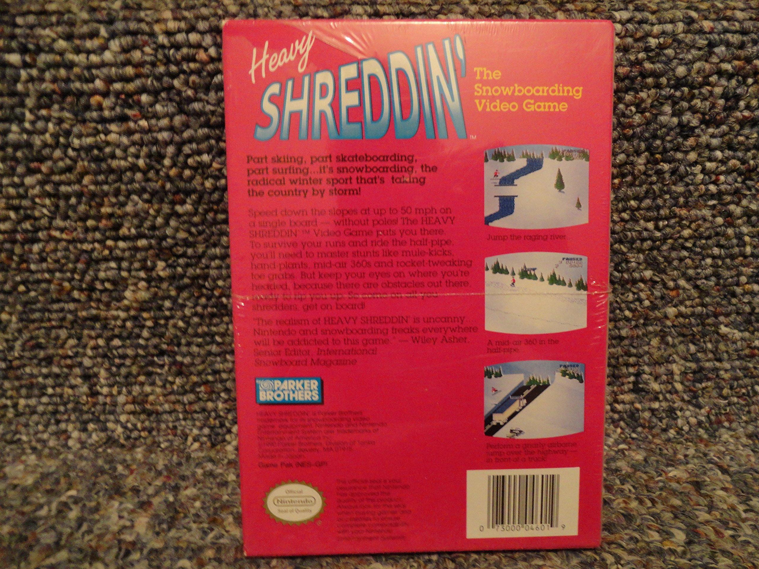 heavy shreddin video games
