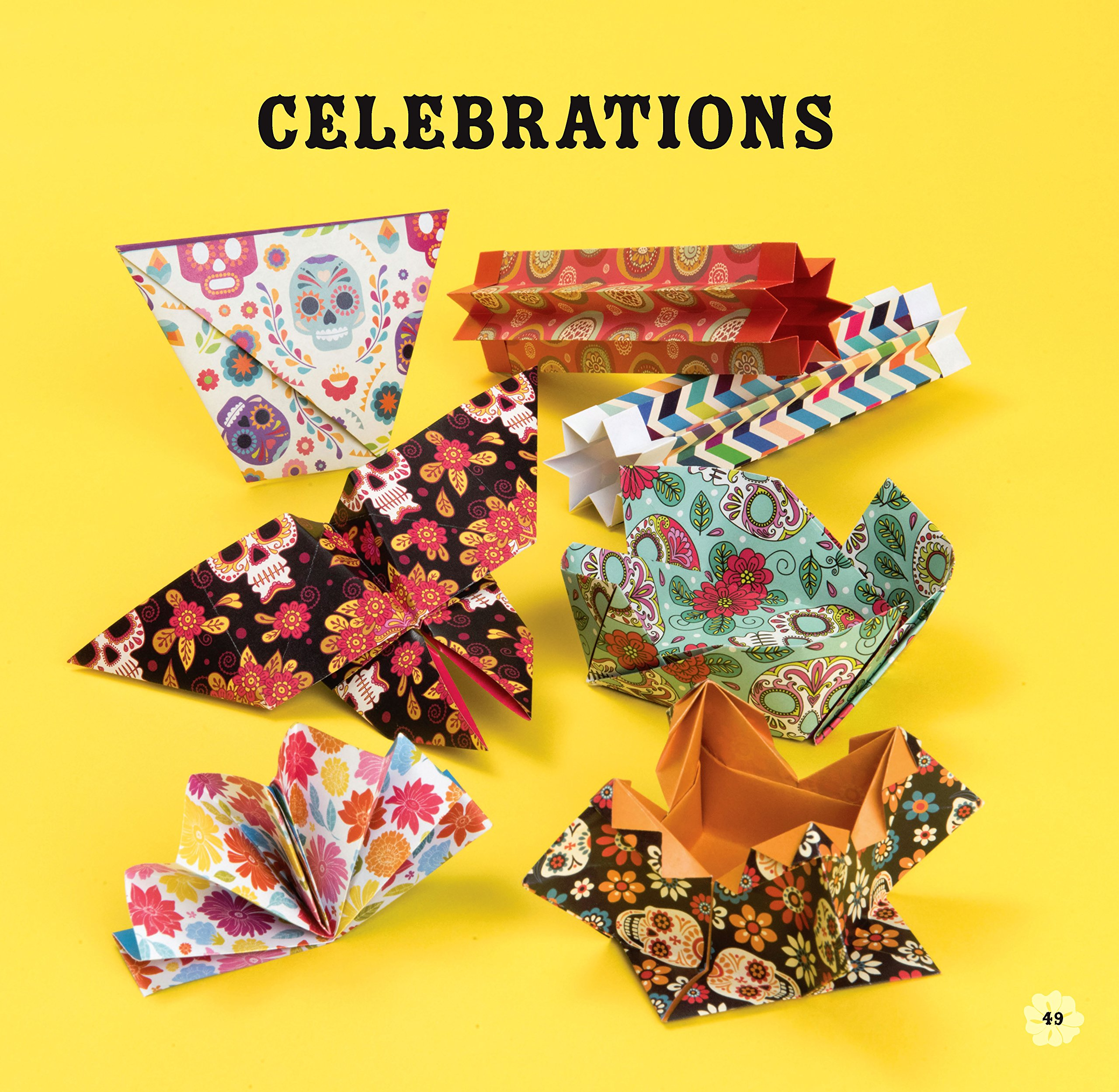 Day of the Dead Origami by Barron's Educational Series (Image #9)
