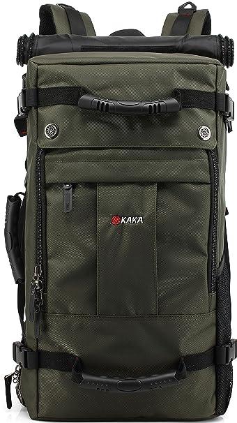 8fbef774efa2 MUFUBU Presents Kaka Premium Quality Water Resistant 3 Ways Multifunctional Luggage  Backpack Bag Usable as Duffle