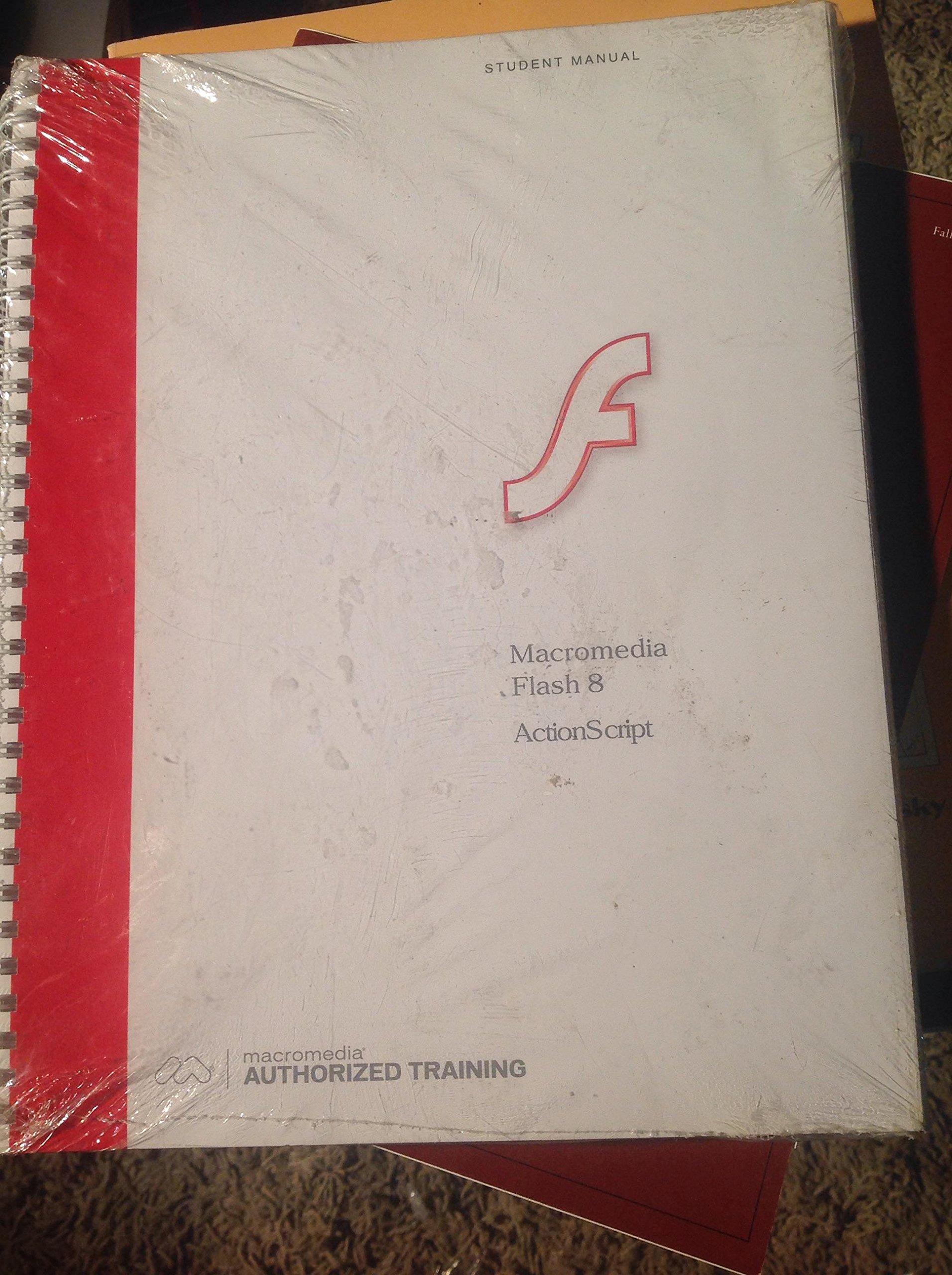 macromedia flash 8 actionscript student manual macromedia rh amazon com macromedia flash 8 lab manual manual macromedia flash 8
