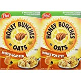 Honey Bunches of Oats Crunchy Honey Roasted Cereal 14.5 Oz. (2 Pack)