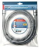 RST 1532 Flexible de douche avec raccord tournant Noir/chromé 200 cm