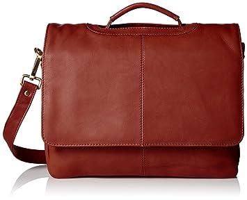 06b5eae7fc80 Visconti Leather Business Case Bag/Briefcase/Handbag Medium, Brown