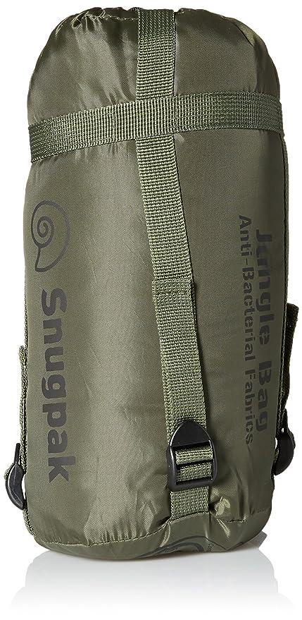 SnugPak - Bolso de mano para zurdos con cremallera, color verde oliva, tamaño cremallera izquierda, 1.69: Amazon.es: Deportes y aire libre