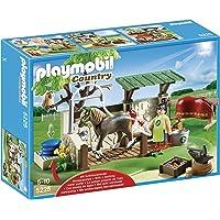 PLAYMOBIL - Ducha para Caballos, Set de Juego