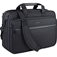 "KROSER 18"" Laptop Bag Premium Laptop Briefcase Fits Up to 17.3 Inch Laptop Expandable Water-Repellent Shoulder Messenger…"