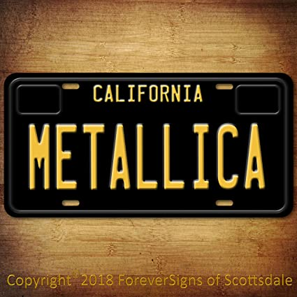 Amazon com: Forever Signs Of Scottsdale Metallica Heavy Metal Band