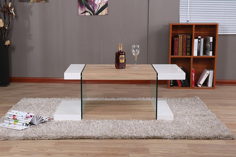 Modernique Intero Coffee Table White Oak Top Living Room Furniture New Model Ebay