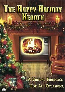 Amazoncom Christmas Fireplaces DVD Includes Christmas Music - Pictures of christmas fireplaces