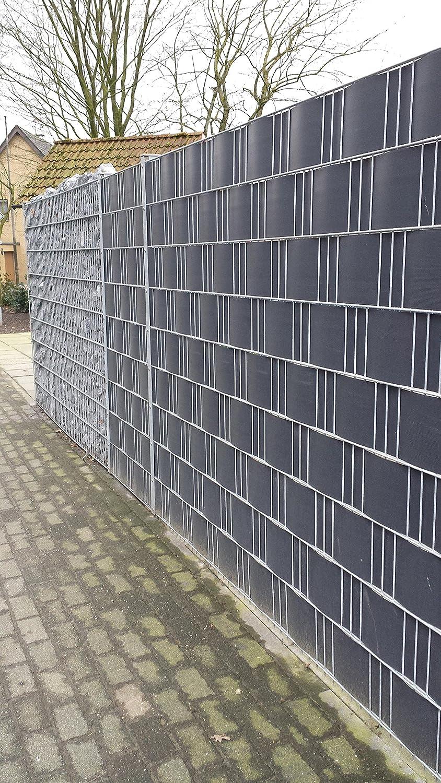 Profi Sichtschutz 50 Meter 1 1 mm PP Kunststoff anthrazit für
