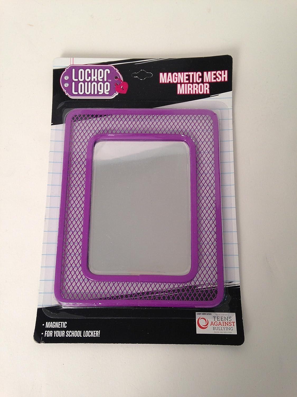 Locker Lounge Magnetic Mesh Locker Mirror Light Purple Lilac