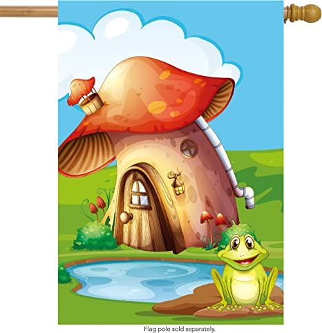 Garden Toad House Frog Home Outdoor Lawn Decor Statues & Lawn Ornaments Garden Décor