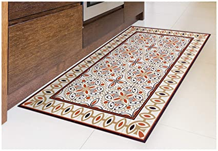Amazoncom Tiva Design Cinnamon Vinyl Floor Mat Decorative