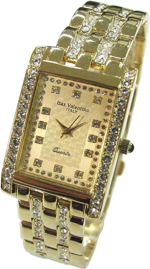 [アイザックバレンチノ] 腕時計 IVG-7000-4 ゴールド