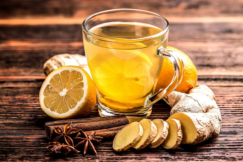 Vedda, Té Jengibre y Limón (80 Tazas de Té) Ginger and Lemon Tea ...