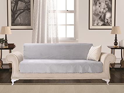 Amazoncom Chiara Rose Diamond Sofa Slipcover 3 Cushion Sofa Cover