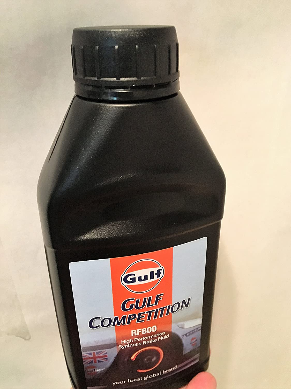 Gulf Competition RF800 High Performance Synthetic Brake Fluid 500ml