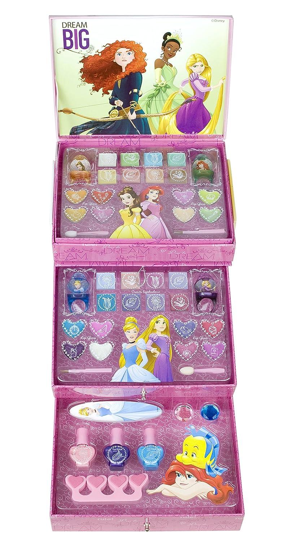 Disney Princesas Make Your Own Fairytale! Cosmetic Collection, kit de maquillaje (Markwins 9604210): Amazon.es: Juguetes y juegos