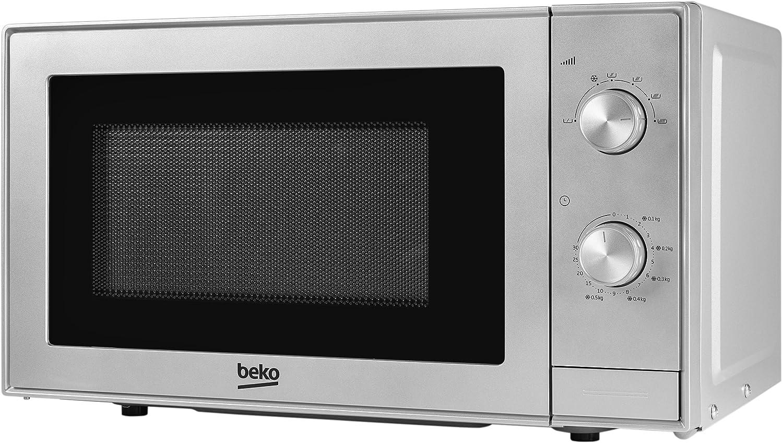 Beko MOC 20100 S Encimera 20 L Plata - Microondas (Encimera, 20 L ...