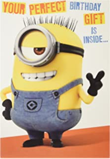 amazon com official despicable me minions birthday card with