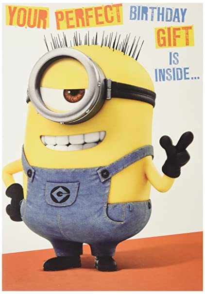 Amazon Despicable Me Minion Your Perfect Birthday Gift Is