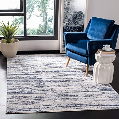 Safavieh Amelia Collection ALA768B Modern Contemporary Abstract Area Rug