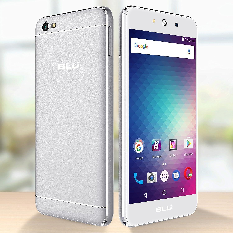 BLU Grand M -Smartphone Libre Doble SIM -Plata: Amazon.es: Electrónica