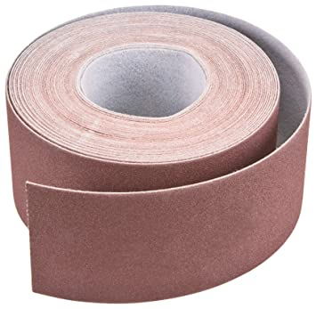 Sungold Abrasives 66825 Hook And Loop F-Heavy Weight Paper Rolls For Drum Sanding Machines 150 Grit 3 X 50