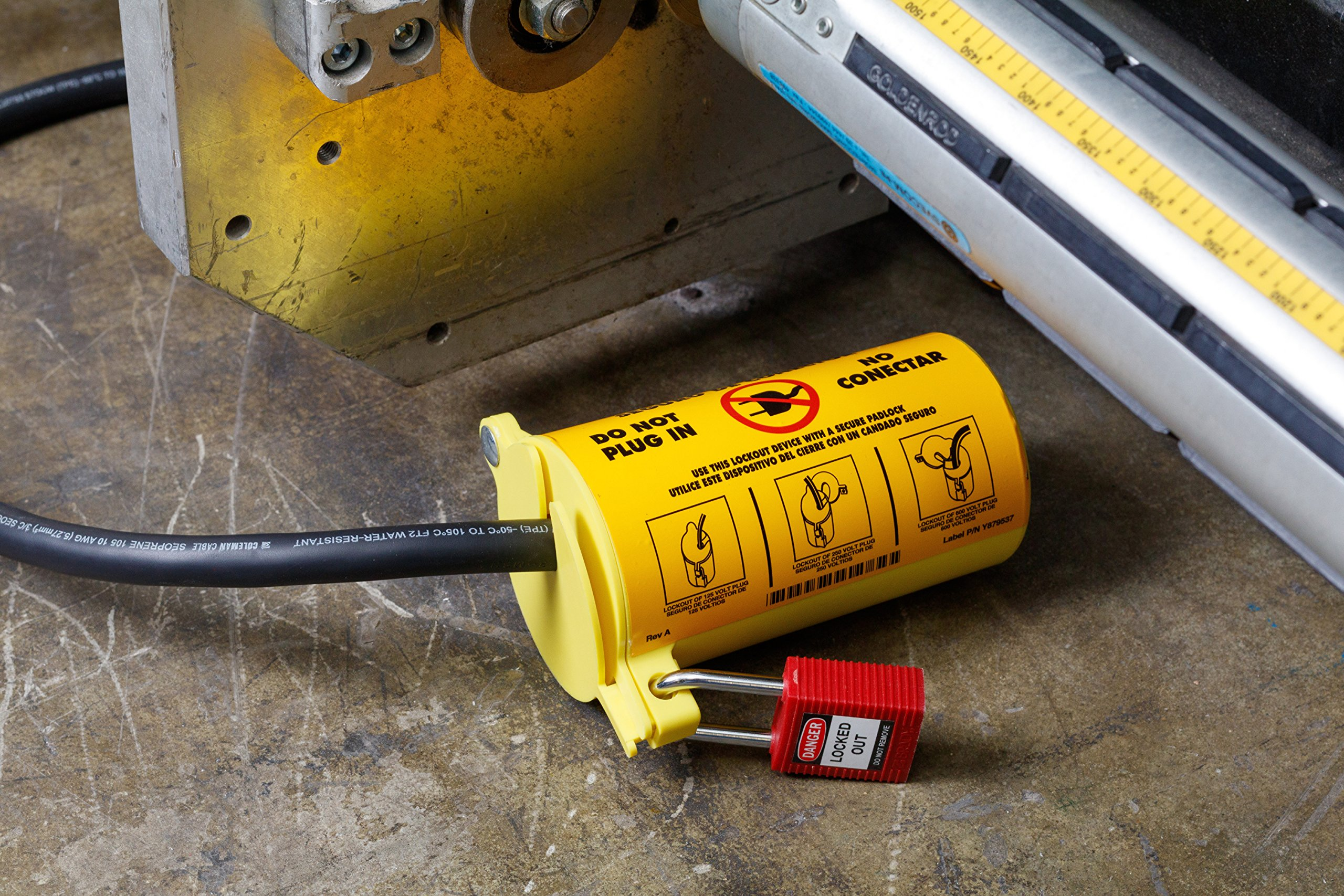 Brady Personal Electrical Lockout Toolbox Kit, Includes 2 Safety Padlocks by Brady (Image #1)