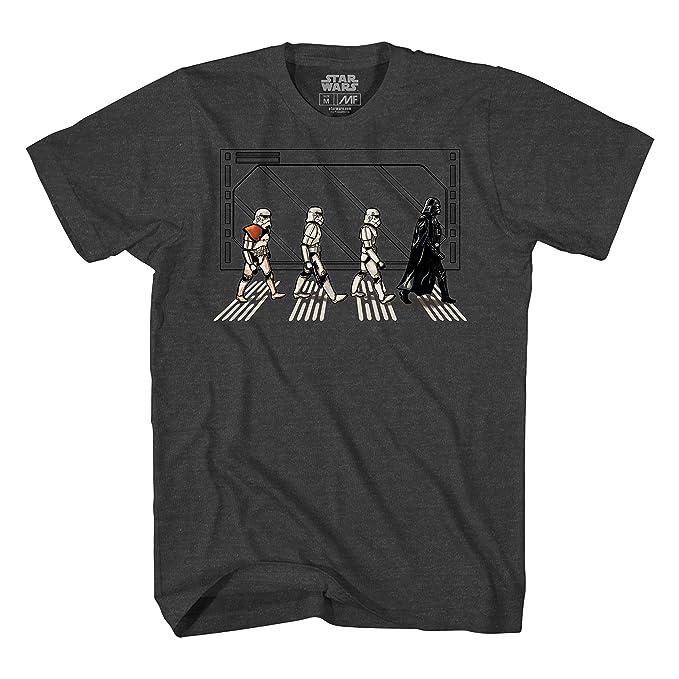 94f679c2e8f Amazon.com  Star Wars Death Star Road Stormtrooper Crossing Mens T ...