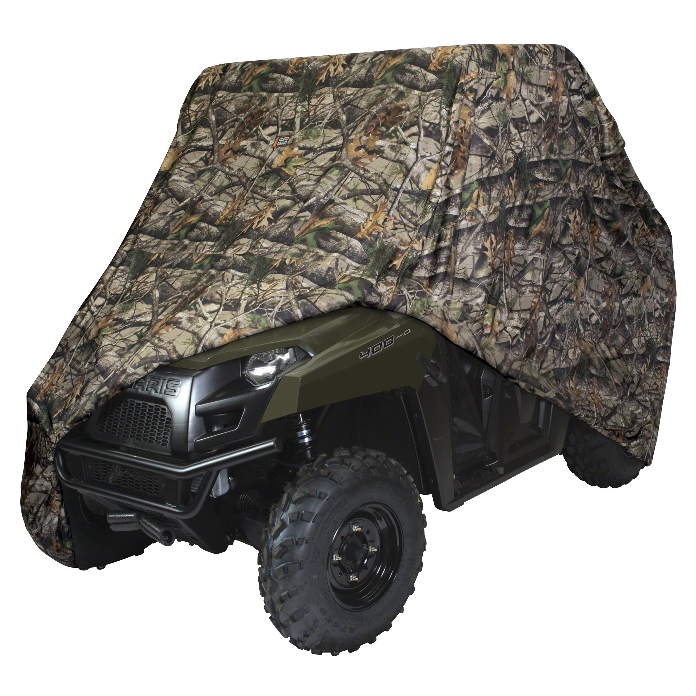 Classic Accessories 18-073-056001-00 Next Vista G1 Camo QuadGear UTV Storage Cover (For Large Size 2-3 Passenger UTVs Up To 125''L 64''W 70''H)