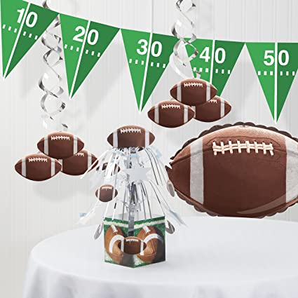 Amazon Com Football Decorations Kit Toys Games