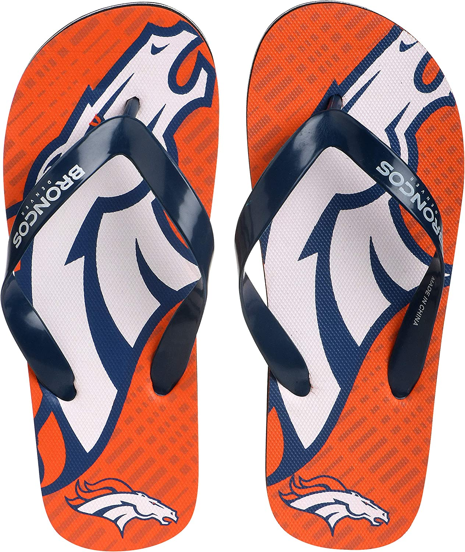 Youth 8-16 FOCO NFL Double Logo Flip Flop