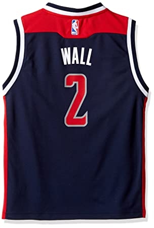 75a52a914 ... top quality outerstuff nba washington wizards wall j 02 boys 8 20  replica alternate jersey 48af4