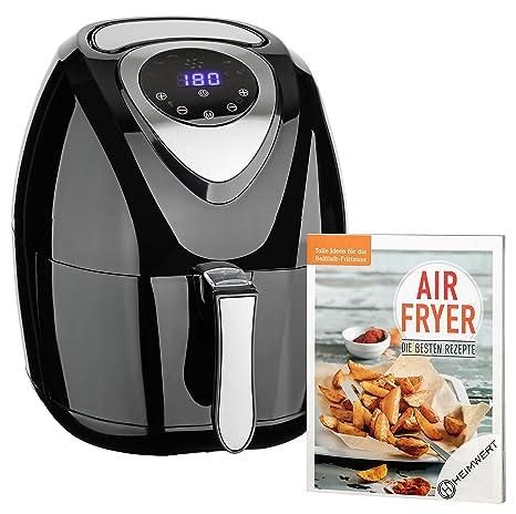 CUISINIER DELUXE- Freidora de aire caliente extra grande de calidad Premium, con pantalla digital