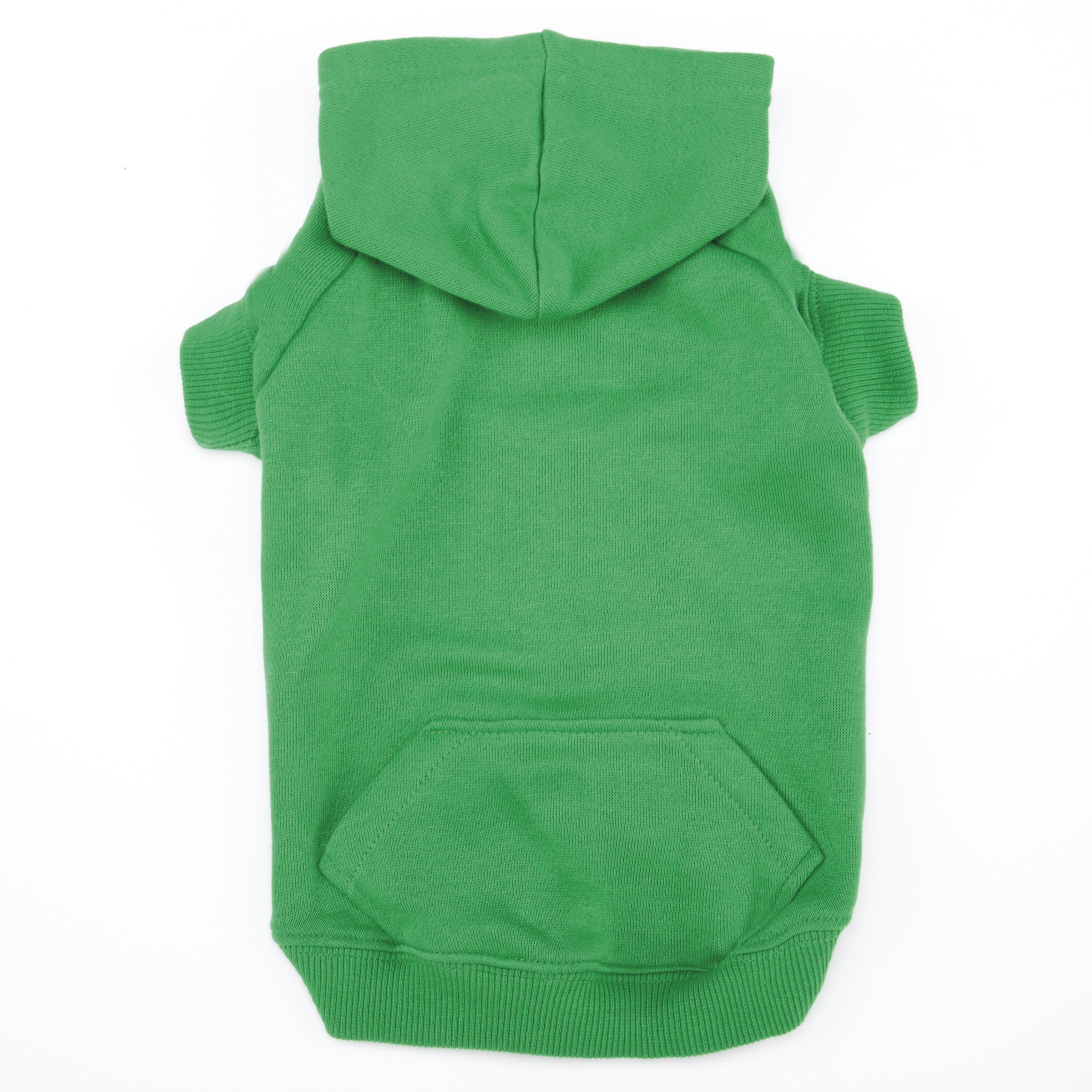 Casual Canine Basic Hoodie for Dogs, 30'' XXL, Green