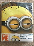 Minion Made Despicable Me – Set copripiumino , 50% cotone/50% poliestere, multicolore, matrimoniale, 200 x 200 cm
