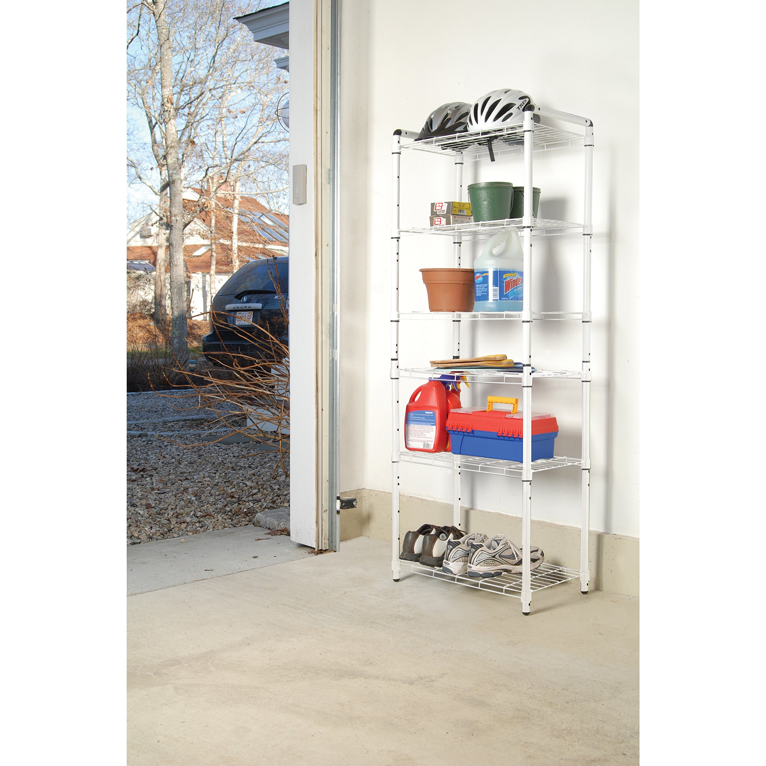 The Art of Storage White Steel 3-tier Quick Rack (Set of 2) by The Art of Storage (Image #2)