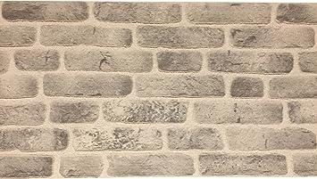 Wandverkleidung In Steinoptik Aus Styropor Fur Kuche Terrasse Schlafzimmer Wohnzimmer Wandpaneele Fur Mediterrane Wandgestaltung 120cm X 50cm X 2cm Weiss Schwarz Amazon De Baumarkt