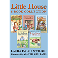 Little House 5-Book Collection: Little House in the Big Woods, Farmer Boy, Little House on the Prairie, On the Banks of Plum Creek, By the Shores of Silver Lake